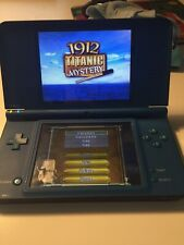 Nintendo DSi XL - Midnight Blue Bundle - stylus- Cleaned and Tested-U.S Seller!