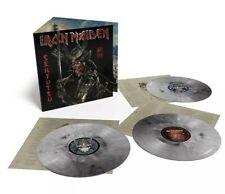 Iron Maiden Senjutsu Amazon EX 3LP Silver Vinyl Limited Edition IN HAND