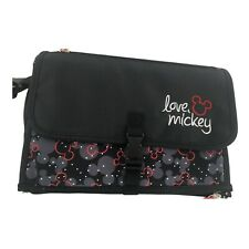 Disney Baby Mickey Mouse Deluxe Changer Travel Changing Pad Strap Pockets