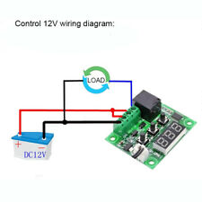 12V Digital Electronic Thermostat Temperature Controller Sensor Relay Switch