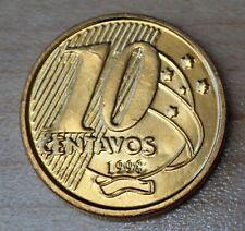 1998 Brazil 10 Centavos Double Die Error