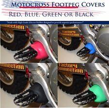 Motocross Racing Footpeg Spring Cover Boots Crf Kxf Rmz Yzf Yz 125 250 450