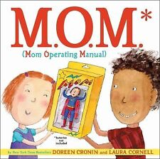 M.O.M. (Mom Operating Manual) - Good - Cronin, Doreen - Hardcover