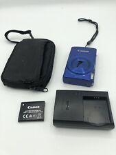 Canon PowerShot ELPH 190 IS / IXUS 180 20.0 MP Digital Camera - Blue Charger