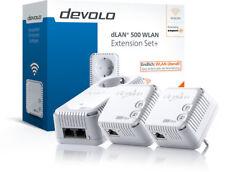 Devolo dLAN 500  Powerline WiFi Network Kit Extension Set WLAN 500 Mbit/s LAN