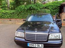 MERCEDES S320 AUTO LHD MARCH 1998