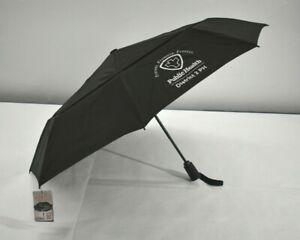 ShedRain Vortex Windproof Umbrella Black 75 MPH Proof Auto Open & Close New