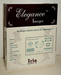 Iris Graphics Elegance Images Clip Art Software for Vintage Macintosh - SEALED