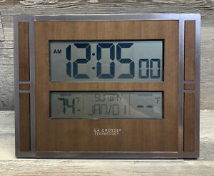 BBB86088 La Crosse Technology Atomic Digital Wall Clock Replacement - Clock Only