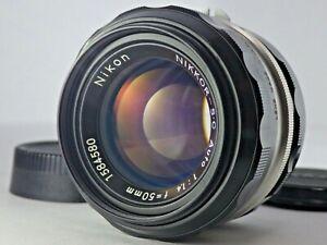 """Excellent!"" Nikon Nikkor S.C Auto non Ai 50mm f/1.4 MF Lens from Japan JP SLR F"