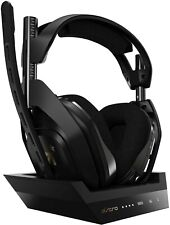 Astro A50 Wireless Headset Headphones + Base Station XBox ONE PC BROKEN MIC