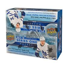2017-18 Upper Deck Series 1 Hockey 24ct Retail Box