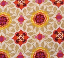 Impressions Fall 2012 Maya Ty Pennington BTY Purple Coral Yellow Floral Tile