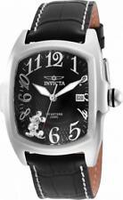 Invicta Disney Limited Ed. 25022 Men's Black Analog Date Tonneau Mickey Watch
