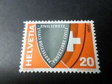 SUISSE - 1957, timbre 588, protection civile, neuf*, VF MH STAMP