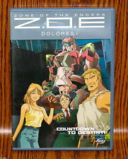 Zone of the Enders: Dolores - Vol. 1: Countdown to Destiny (DVD, 2002) Anime R1