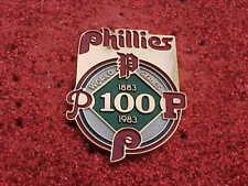 1983 Philadelphia Phillies World Series Media Press Pin - Baltimore Orioles O's