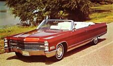 Print.  Red 1966 Cadillac Fleetwood Eldorado Convertible Auto Ad