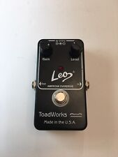Toadworks Leo Jr. American Overdrive Distortion Guitar Effect Pedal Made In USA