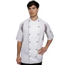 Le Chef lavandería resistente staycool Chaqueta de Desmontable TACHUELAS