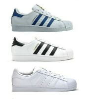Adidas Boys Trainers Originals SUPERSTAR Child Girls Casual Shoes Size UK 3 4 5