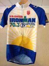 K-Swiss Ironman Race 70.3 Branson Triathlon Bike Cycling Jersey M Medium