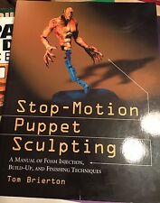 Stop-Motion Puppet Scultping by Tom Brierton Paperback  NEW