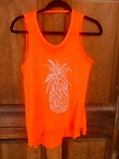 Pineapple Ladies Tank Top Food Graphic Tee