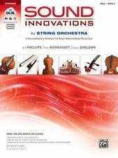 Sound Innovations for String Orchestra, Bk 2: A Revolutionary Method for Early-