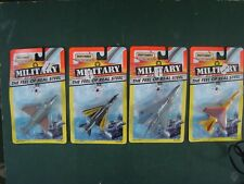 4 Matchbox Real Steel Planes Tornado Mirage MG-21 Harrier Marines Air Force toy