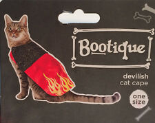 Devilish Cat Cape Halloween Costume - Small Pet - One Size - New With Tags