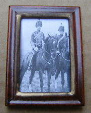 1:12 Scale Framed Picture Print Of Soldiers On Horseback Dolls House Art JD