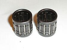 LITTLE SMALL END PISTON PIN WRIST PIN BEARING (2) SUZUKI T500 GT500 NEW PB10