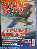 RCMW RC MODEL WORLD SEPTEMBER 2010 SANDYANNE PLAN BATTLE OF BRITAIN CORBY STAR