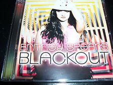 Britney Spears Blackout (Australia) CD – Like New