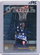 JERMAINE O'NEAL 1997 97 SCOREBOARD SCORE BOARD AUTO RC - WARRIORS PACERS - X545