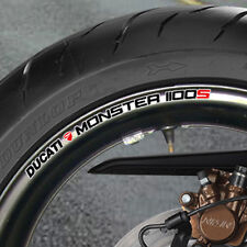 DUCATI MONSTER 1100S WHEEL RIM STICKERS - NEW