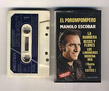 Mc MANOLO ESCOBAR El Porompompero - OTTIMO 1979 musicassetta