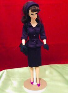 Handmade Lined Dress Fits 11 1/2 Dolls - Barbie Repro Vintage,Silkstone Size