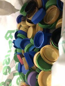 150 Large Plastic Bottle Tops