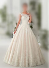 e066New Mermaid Gown Bridal lace Wedding Dress Custom Size2 4 6 8 10 12 14 +++