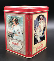 """Vintage Coca-Cola Tin Can 1993 Red & Gold """"Enjoy Thirst"""""""