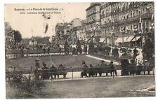 CPA 35 - RENNES (Ille et Vilaine) La Place de la République et nouveaux jardins