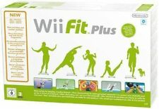 Wii Fit Plus Nintendo Wii PAL COMPLETE With Official Black Balance Board