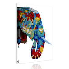 Unframed Canvas Prints Modern Home Decor Wall Art Picture-Long Nose Elephant