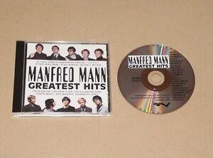 Manfred Mann - Greatest Hits, CD Album UK/Europe 1993 (514326-2) Ex-/Ex Pop