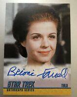 Star Trek Heroes & Villains TOS Autograph Card A257 Brioni Farrell Card