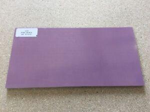 """G10: Pink/Black 1/4"""" 6"""" x 12"""" Sheet for Wood Working, Knife Making, Bush Craft"""