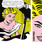 "30W""x40H"" GIRL AT PIANO by ROY LICHTENSTEIN - MUSIC ORGAN KEYS SERIGRAPH CANVAS"