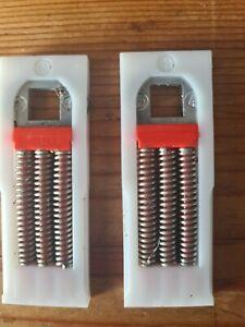 1 x pair Replacement Upvc handle spring cassette  to fix floppy door handles